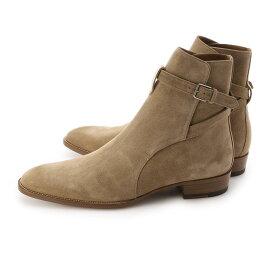 サンローラン SAINT LAURENT ブーツ ベージュ メンズ 大きいサイズあり 498372 bt300 9870 WYATT 30 JODHPUR【あす楽対応_関東】【返品送料無料】【ラッピング無料】