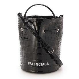 バレンシアガ BALENCIAGA バケットバッグ ブラック レディース 638342 1romn 1000 EVERYDAY DRAWST BUCK XS【あす楽対応_関東】【返品送料無料】【ラッピング無料】 [2021SS]