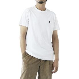 バーバリー BURBERRY クルーネック Tシャツ ホワイト メンズ 8014021 white MONOGRAM MOTIF COTTON T-SHIRT【あす楽対応_関東】【返品送料無料】【ラッピング無料】[2021SS]