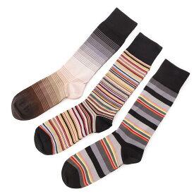 ポールスミス Paul Smith ソックス 3足セット マルチカラー メンズ m1a sock fpacka 79 SOCK PACK MIXED【あす楽対応_関東】【返品交換不可】【ラッピング無料】[2021SS]