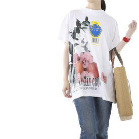 メゾンマルジェラ Maison Margiela クルーネックTシャツ ホワイト レディース s51gc0448 s22816 100【あす楽対応_関東】【返品送料無料】【ラッピング無料】