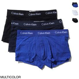 カルバンクライン Calvin Klein ボクサーパンツ 3枚セット メンズ nu2664 062 3 LOW RISE TRUNK スリー ローライズ ライズ トランク【あす楽対応_関東】【返品交換不可】【ラッピング無料】