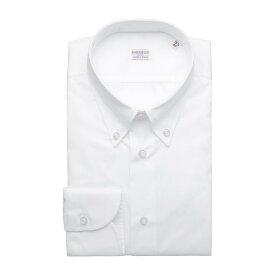 ボリエッロ BORRIELLO ボタンダウン シャツ ホワイト メンズ 大きいサイズあり c1 12042 1 C1 SLIM FIT【あす楽対応_関東】【返品送料無料】【ラッピング無料】[2021SS]