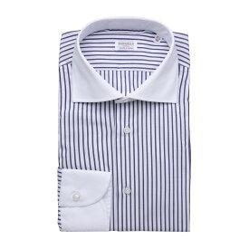ボリエッロ BORRIELLO クレリックシャツ ブルー メンズ 大きいサイズあり z9 12036 3 Z9 TONDO SLIM FIT【あす楽対応_関東】【返品送料無料】【ラッピング無料】[2021SS]