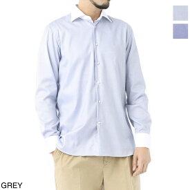 ボリエッロ BORRIELLO クレリックシャツ ブルー メンズ 大きいサイズあり z9 12040 2 Z9 TONDO SLIM FIT【あす楽対応_関東】【返品送料無料】【ラッピング無料】[2021SS]
