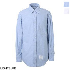 トムブラウン THOM BROWNE. ボタンダウンシャツ カジュアルシャツ ホワイト メンズ 大きいサイズあり mwl010e 06177 100【あす楽対応_関東】【返品送料無料】【ラッピング無料】[2021SS]