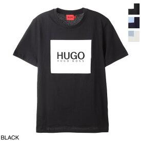 ヒューゴヒューゴボス HUGO HUGOBOSS クルーネック Tシャツ メンズ doliveu212 50448795 10233396 001 DOLIVEU REGULAR-FIT T-SHIRT IN COTTON JERSEY WITH LOGO PRINT【あす楽対応_関東】【返品送料無料】【ラッピング無料】[2021SS]