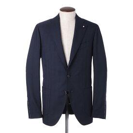 ラルディーニ LARDINI 3つボタン ジャケット ブルー メンズ 大きいサイズあり el1526aq elrs56582 850 REXCLUSIVE【あす楽対応_関東】【返品送料無料】【ラッピング無料】[2021SS]