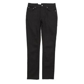 ヌーディージーンズ nudie jeans co ジップフライ ジーンズ ブラック メンズ 大きいサイズあり lean dean 112498 LEAN DEAN リーン ディーン レングス32【あす楽対応_関東】【返品送料無料】【ラッピング無料】[2021SS]