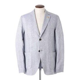 ラルディーニ LARDINI 2つボタン ジャケット ブルー メンズ elamaj c1389 820【あす楽対応_関東】【返品送料無料】【ラッピング無料】[2021SS]