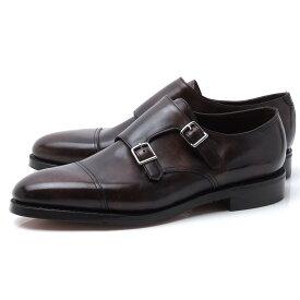 ジョンロブ JOHN LOBB ダブルモンクストラップ シューズ 革靴 ブラウン メンズ 大きいサイズあり william 228192le 2y darkbrown WILLIAM ウィリアム ラスト 9795【返品送料無料】【ラッピング無料】