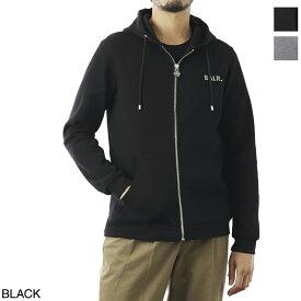 ボーラー BALR. ジップアップパーカ メンズ q series zipped hoodie black【あす楽対応_関東】【返品送料無料】【ラッピング無料】