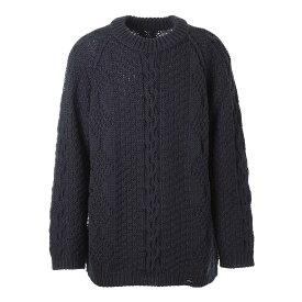 メゾンマルジェラ Maison Margiela クルーネック セーター ブルー メンズ s50gp0265 s17833 511【あす楽対応_関東】【返品送料無料】【ラッピング無料】