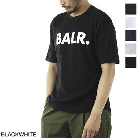 ボーラー BALR. クルーネック Tシャツ メンズ brand shirt black white BRAND T-SHIRT ATHLETIC FIT ブランド Tシャツ アスレチック フィット【あす楽対応_関東】【返品送料無料】【ラッピング無料】