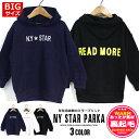 韓国子供服 キッズ パーカー BIGサイズ NY ミラープリント 裏起毛 パーカー オーバーサイズ ルーズ ゆったり 子供服 …