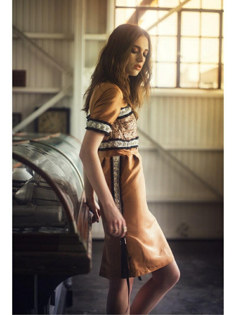 【SALE/30%OFF】ビジューラインワンピース[DRESS/ドレス] ミリオンカラッツ ワンピース【RBA_S】【RBA_E】【送料無料】