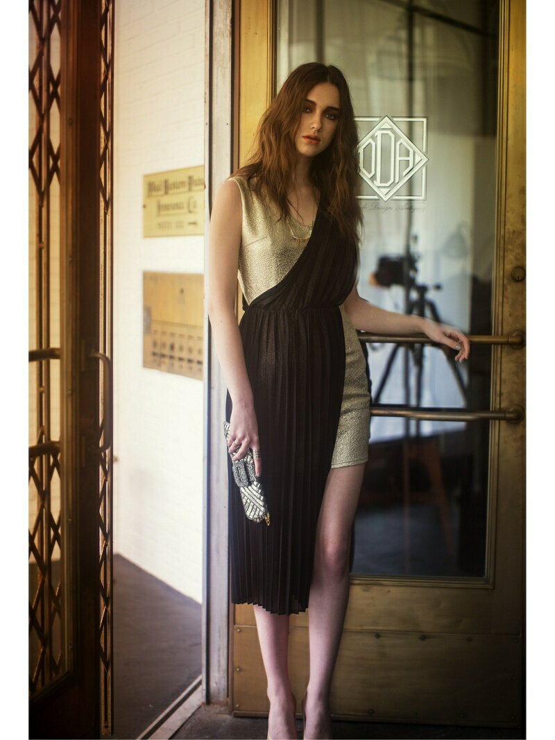 Million Carats アシメプリーツワンピース[DRESS/ドレス] ミリオンカラッツ【送料無料】