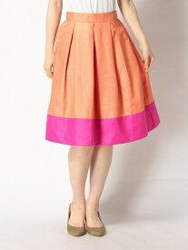 バイカラースカート[DRESS/ドレス] Million Carats ミリオンカラッツ スカート【RBA_S】【RBA_E】【送料無料】