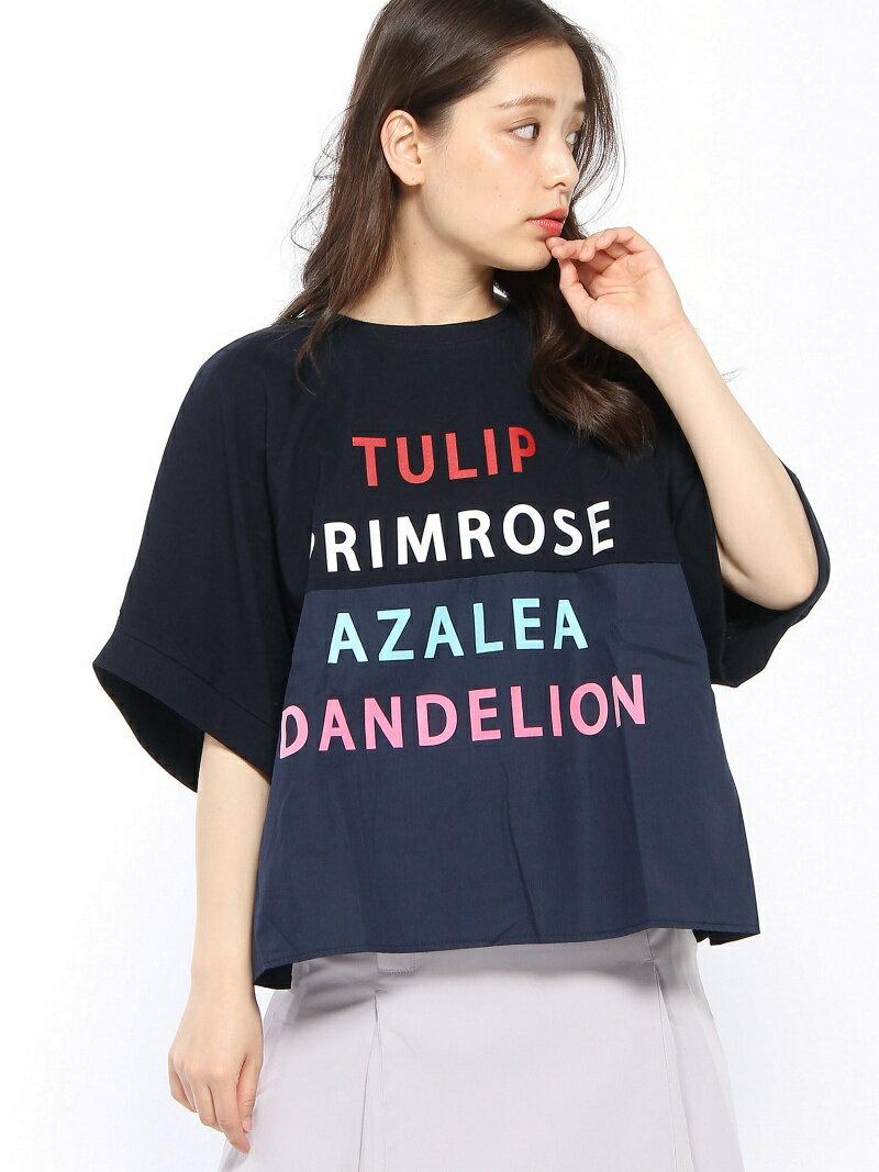 [Rakuten BRAND AVENUE]【SALE/30%OFF】フラワーネームTシャツ Million Carats ミリオンカラッツ カットソー【RBA_S】【RBA_E】【送料無料】