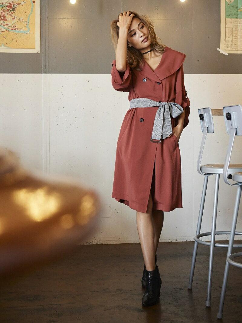[Rakuten BRAND AVENUE]コートライクワンピース[DRESS/ドレス] Million Carats ミリオンカラッツ ワンピース【送料無料】