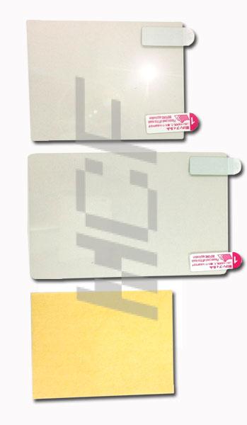 New3DSLL 3DSLL対応アクセサリ☆ 液晶保護フィルム ☆◆自己吸着タイプ!◆クリーナー付き!【mc-factory】【DSアクセサリ】【DSパーツ】