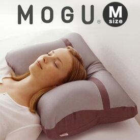 メタルモグピロー【メタルMOGUピロー ホワイトカバー付 M】 【送料無料・日本製】 [MOGUの心地よい感触にチタニウムスパンデックスの快適機能をもったビーズピロー 安眠枕 快眠枕]