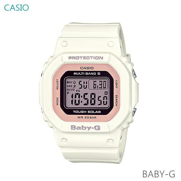 レディース 腕時計 7年保証 カシオ BABY-G ソーラー 電波 BGD-5000-7DJF 正規品 CASIO