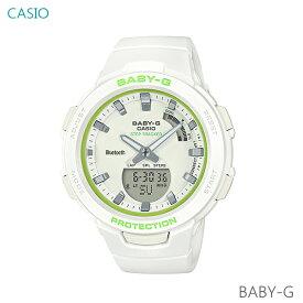レディース 腕時計 7年保証 カシオ BABY-G G-SQUAD BSA-B100SC-7AJF 正規品 モバイルリンク機能