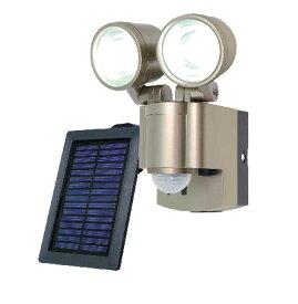 ELPA(エルパ) ソーラー 3W LEDセンサーライト2灯 ESL-302SL【10P03Dec16】【smtb-u】【送料込み】【防災の日】