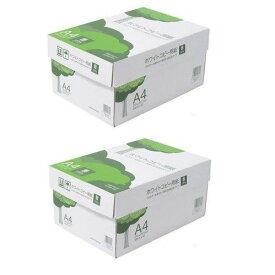 コピー用紙 A4 ホワイトコピー用紙 高白色 紙厚0.09mm 5000枚 AIK901J-2P【10P03Dec16】