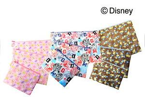 ディズニー(Disney) フラットポーチ L Cheerfulシリーズ ミニーマウス DTS-0348C/コンサイス/海外旅行便利グッズ【旅行用品】【10P03Dec16】