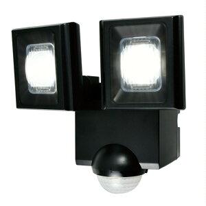 ELPA 屋外用LEDセンサーライト 乾電池式 ESL-N112DC【防災の日】