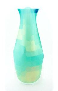 MODGY(モッジー) フラワーベース(FLOWER VASE) 水を注ぐだけのソフトな折りたためる花瓶 キュラソー MV6137/インテリア/雑貨/エコ【10P03Dec16】