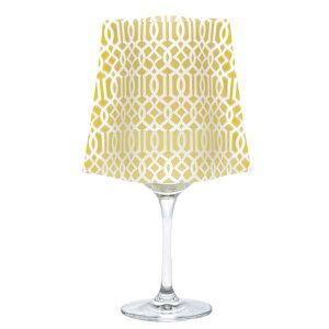 MODGY(モッジー) ワイングラスシェード(WINE GLASS SHADE) 水で灯すLEDキャンドル クラシック イエロー WG5608/防災/災害/インテリア/雑貨/照明/エコ【10P03Dec16】