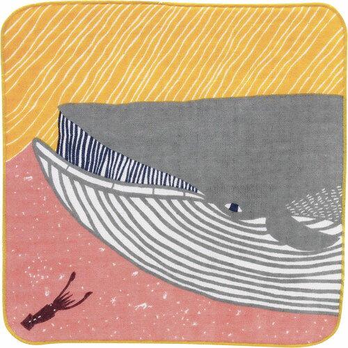 kata kataふわふわタオル ナガスクジラ ピンク 風呂敷(ふろしき)/山田繊維/70020-104【10P03Dec16】
