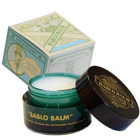 バブロ バーム BABLO BALM バブロバーム メンズ用 男性用(ムスクの香り)35g[ヘアワックス ハンドクリーム 練り香水 リップクリーム]