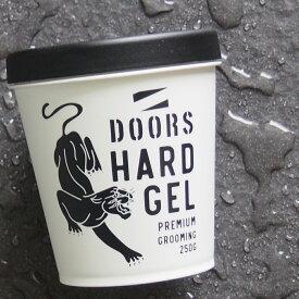 DOORS ドアーズ ハードジェル 250g [香りは ポマード と同様、オリジナル香料フルーティ&フゼアノート]