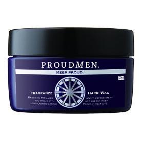 「まるで香水のようなワックス」メンズ ヘアワックス PROUDMEN プラウドメン フレグランスハードワックス グルーミング シトラス 60g [ スタイリング剤 男性用 ヘアスタイリング剤 プレゼント ]フレグランスワックスのハードタイプ
