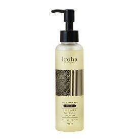 【iroha INTIMATE WASH moist】 フレッシュジャスミンの香り デリケートゾーン専用ソープ 保湿成分配合 イロハ