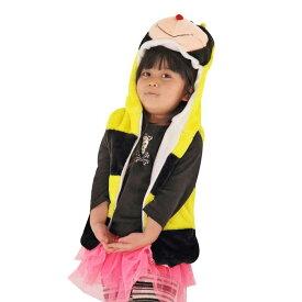 【i Party Time】【ふわもこキッズベスト みつばち】 子供用 コスプレ 着ぐるみ イベント 動物 衣装 ベスト コスプレ衣装 コスチューム 仮装