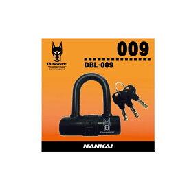 DBL-009 ドーベルマン Uロックミニ -ディスクロック兼用- 鍵 バイク/盗難防止/南海部品取扱/自転車