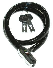 GORIN ファントム形ワイヤー錠 GL-515W 12x580mm ブラック【自転車】【ロック】: