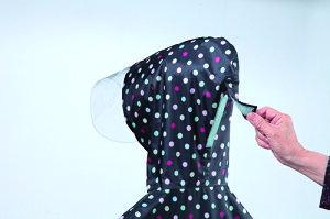 チャイルドポンチョサギサカ【子供用】【自転車】【カッパ】【雨具】【レインポンチョ】【レインコート】