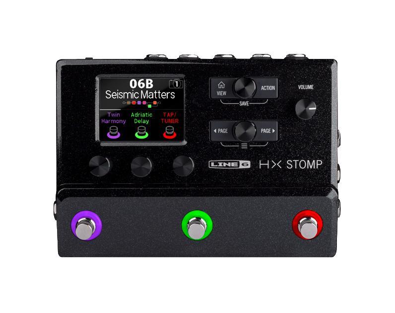 【次回入荷分ご予約】LINE6 HX STOMP 《マルチ・ギター・プロセッサ》 超コンパクトなプロフェッショナル・ギター・プロセッサー【KK9N0D18P】【RCP】