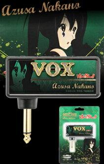 《VOX keion!amPlug中野梓特别版本/AP-AZUSA-BK》VOX耳机·放大器azunyan ver.
