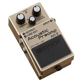 BOSS AD-2 (AD2 / Acoustic Preamp)《アコースティック・プリアンプ》【KK9N0D18P】【RCP】【02P05Nov16】【KK9N0D18P】