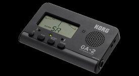 【在庫有り・即日出荷】KORG 《ギター・ベース用チューナー》GA-2 Guitar/Bass Tuner 【KK9N0D18P】【RCP】