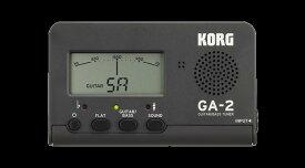 【在庫有り・即日出荷】KORG 《ギター・ベース用チューナー》GA-2-MG / (Matte Gray)Guitar/Bass Tuner 【KK9N0D18P】【RCP】