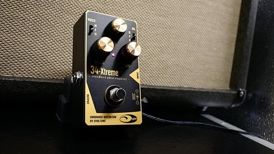 【在庫あり・即日出荷】 Ovaltone (Oval Tone) 34-Xtreme オーバル・トーン / EL84 ブリティッシュ・ドライブ・ディストーション【RCP】
