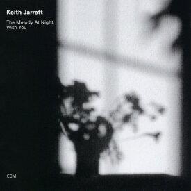 Keith Jarrett キース ジャレット / The Melody At Night, With You 180g重量盤LP【KK9N0D18P】